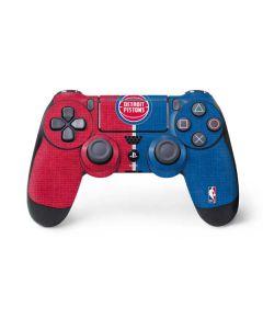 Detroit Pistons Canvas PS4 Pro/Slim Controller Skin