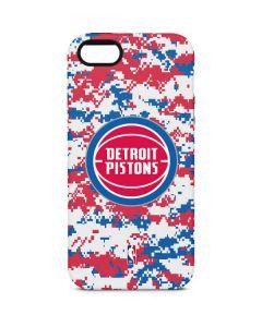 Detroit Pistons Digi Camo iPhone 5/5s/SE Pro Case