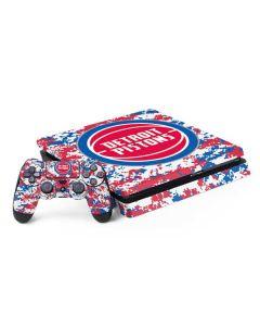 Detroit Pistons Digi Camo PS4 Slim Bundle Skin