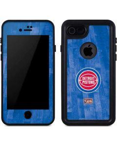 Detroit Pistons Hardwood Classics iPhone 8 Waterproof Case