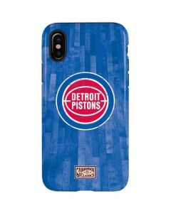 Detroit Pistons Hardwood Classics iPhone X Pro Case