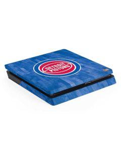 Detroit Pistons Hardwood Classics PS4 Slim Skin