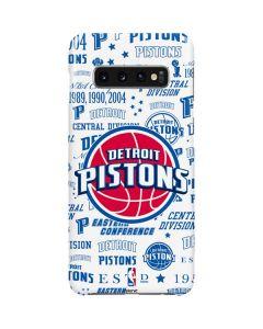 Detroit Pistons Historic Blast Galaxy S10 Plus Lite Case