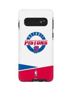 Detroit Pistons Split Galaxy S10 Pro Case
