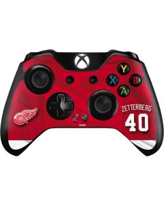 Detroit Red Wings #40 Henrik Zetterberg Xbox One Controller Skin