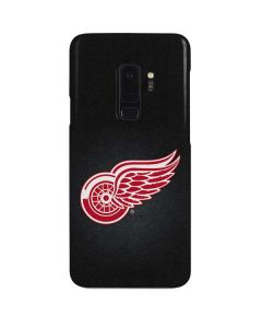 Detroit Red Wings Black Background Galaxy S9 Plus Lite Case
