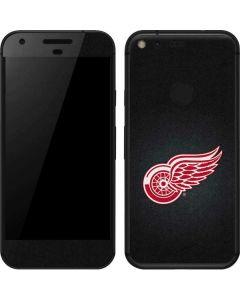 Detroit Red Wings Black Background Google Pixel Skin