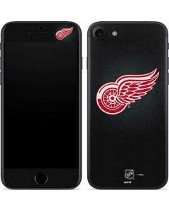 Detroit Red Wings Black Background iPhone 7 Skin