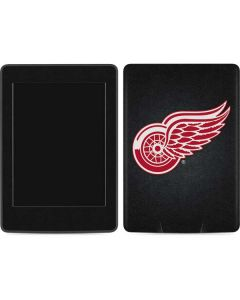 Detroit Red Wings Black Background Amazon Kindle Skin