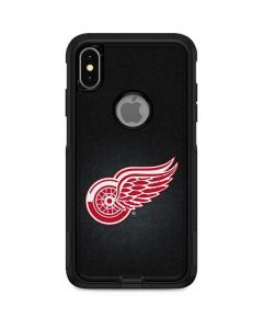 Detroit Red Wings Black Background Otterbox Commuter iPhone Skin
