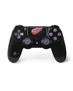 Detroit Red Wings Black Background PS4 Pro/Slim Controller Skin