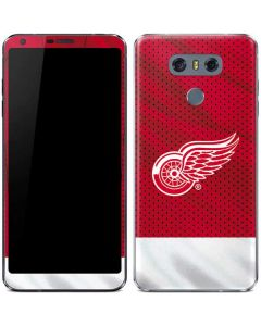 Detroit Red Wings Home Jersey LG G6 Skin