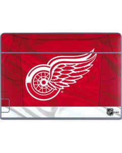 Detroit Red Wings Home Jersey Galaxy Book Keyboard Folio 12in Skin