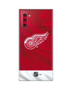 Detroit Red Wings Home Jersey Galaxy Note 10 Skin