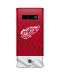 Detroit Red Wings Home Jersey Galaxy S10 Plus Skin