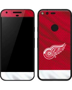 Detroit Red Wings Home Jersey Google Pixel Skin