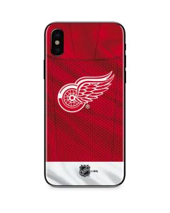 Detroit Red Wings Home Jersey iPhone XS Skin