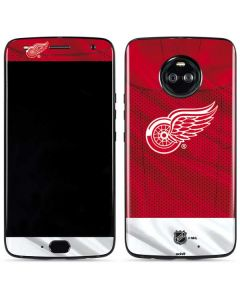 Detroit Red Wings Home Jersey Moto X4 Skin