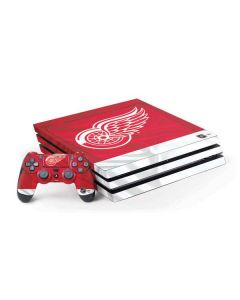 Detroit Red Wings Home Jersey PS4 Pro Bundle Skin