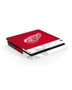 Detroit Red Wings Home Jersey PS4 Slim Skin