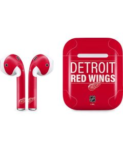 Detroit Red Wings Lineup Apple AirPods Skin