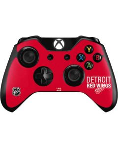 Detroit Red Wings Lineup Xbox One Controller Skin