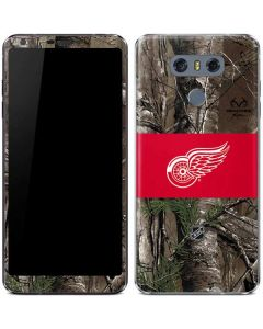 Detroit Red Wings Realtree Xtra Camo LG G6 Skin