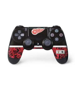 Detroit Red Wings Retro Tropical Print PS4 Pro/Slim Controller Skin