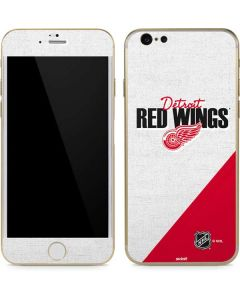 Detroit Red Wings Script iPhone 6/6s Skin