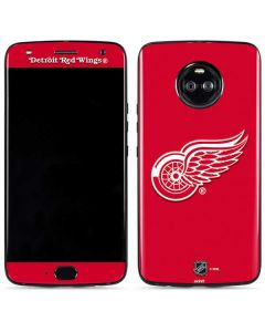 Detroit Red Wings Solid Background Moto X4 Skin