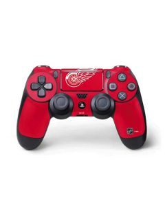 Detroit Red Wings Solid Background PS4 Pro/Slim Controller Skin