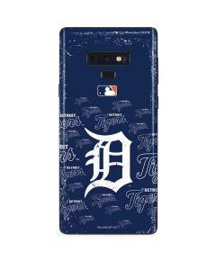 Detroit Tigers - Cap Logo Blast Galaxy Note 9 Skin