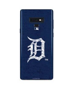 Detroit Tigers - Solid Distressed Galaxy Note 9 Skin