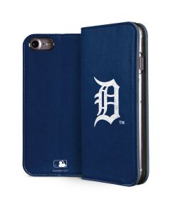 Detroit Tigers - Solid Distressed iPhone 7 Folio Case