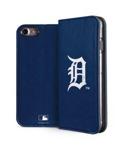 Detroit Tigers - Solid Distressed iPhone 8 Folio Case