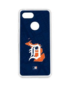 Detroit Tigers Home Turf Google Pixel 3 Clear Case