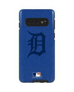 Detroit Tigers Monotone Galaxy S10 Pro Case