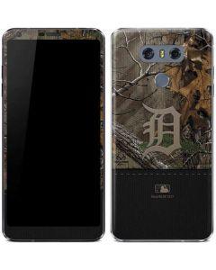 Detroit Tigers Realtree Xtra Camo LG G6 Skin