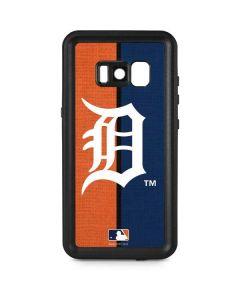 Detroit Tigers Split Galaxy S8 Plus Waterproof Case