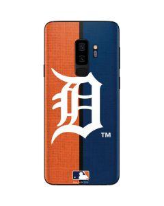 Detroit Tigers Split Galaxy S9 Plus Skin