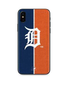 Detroit Tigers Split iPhone XS Max Skin