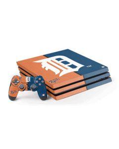 Detroit Tigers Split PS4 Pro Bundle Skin