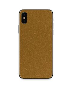 Diamond Gold Glitter iPhone XS Max Skin
