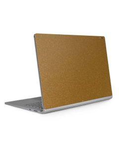 Diamond Gold Glitter Surface Book 2 13.5in Skin