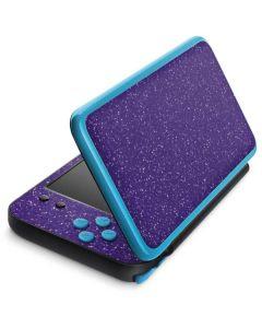 Diamond Purple Glitter 2DS XL (2017) Skin