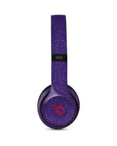 Diamond Purple Glitter Beats Solo 3 Wireless Skin
