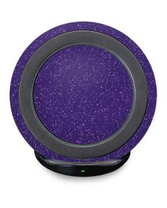 Diamond Purple Glitter Fast Charge Wireless Charging Stand Skin