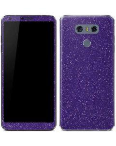 Diamond Purple Glitter LG G6 Skin