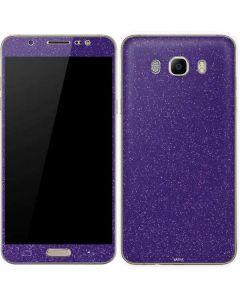 Diamond Purple Glitter Galaxy J7 Skin