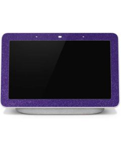 Diamond Purple Glitter Google Home Hub Skin